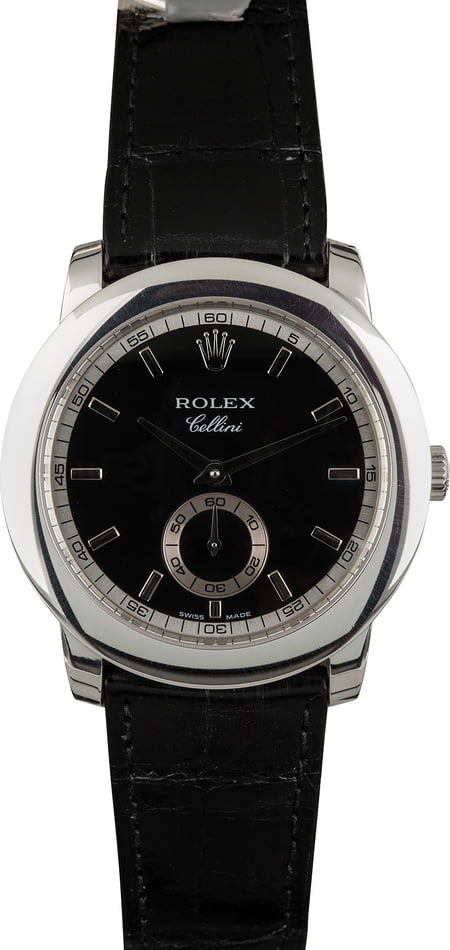 Rolex Cellini 5241 Platinum 38MM Case T