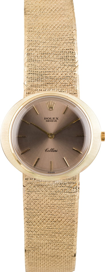 Vintage Rolex Cellini Yellow Gold