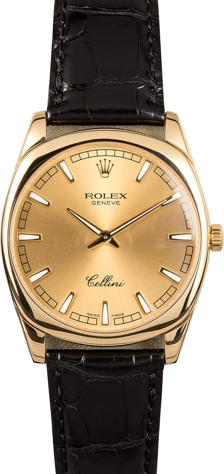 Rolex Cellini Danaos 4243 Yellow Gold