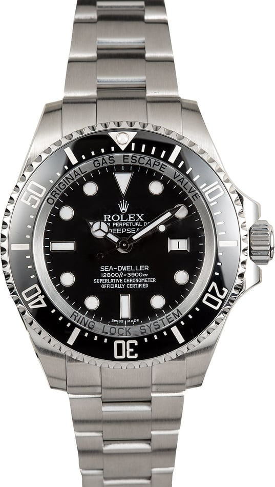 Rolex Ceramic Deepsea 116660 Sea-Dweller