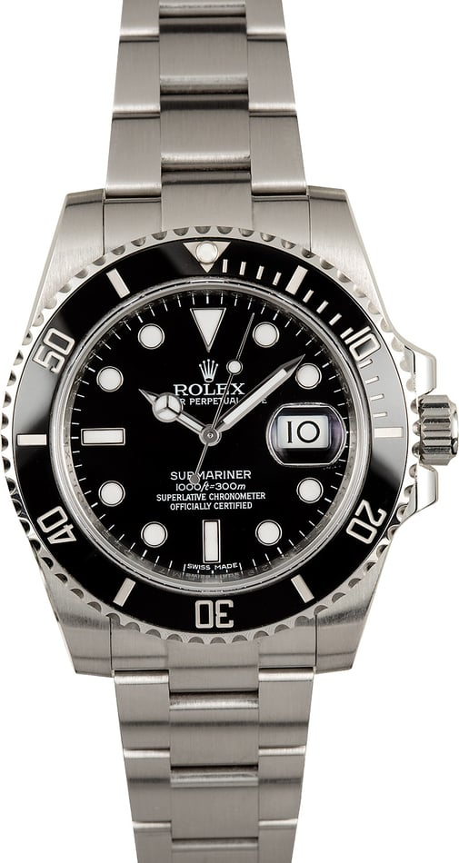 Rolex Ceramic Submariner 116610 Certified Pre-Owned