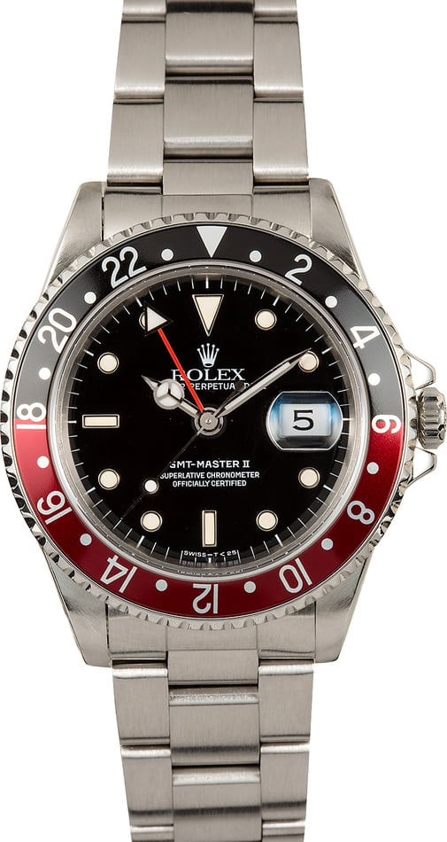 Rolex Coke GMT-Master II 16710 Certified Pre-Owned