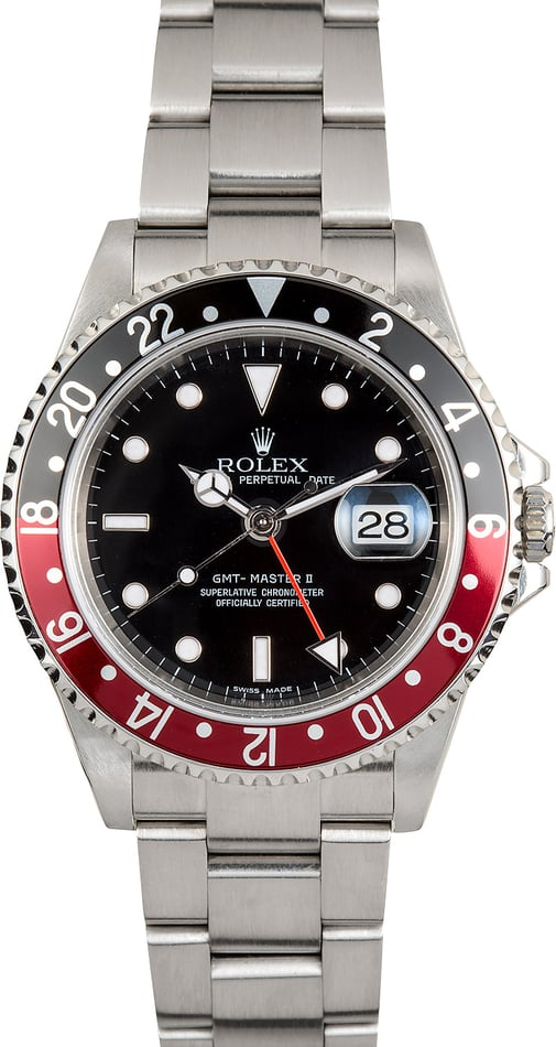 Rolex Coke GMT Master II 16710 No Holes