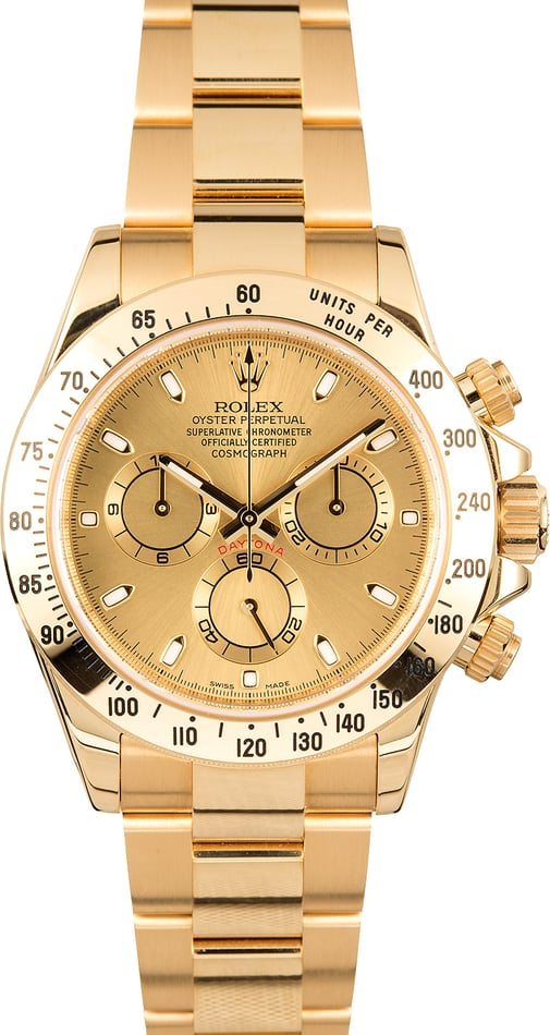 Rolex Cosmograph Daytona 116528 Yellow Gold