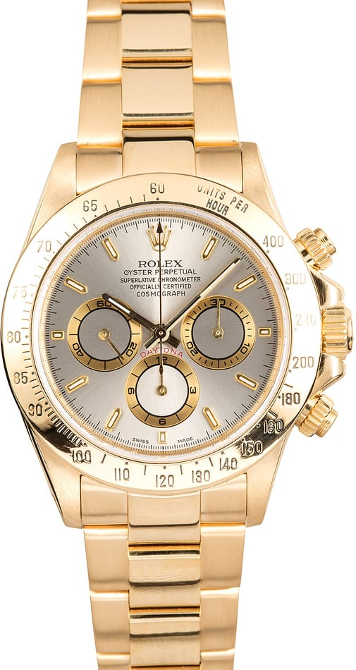 Rolex Cosmograph Daytona 16528 Yellow Gold