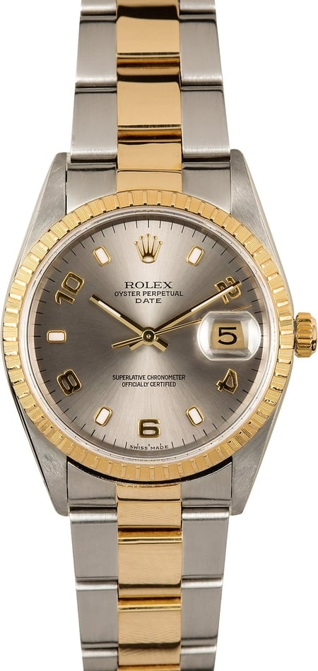 Rolex Date 15223 Certified Pre-Owned