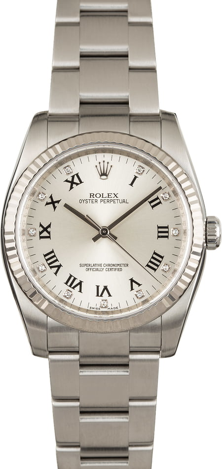 Used Men's Rolex Oyster Perpetual 116034