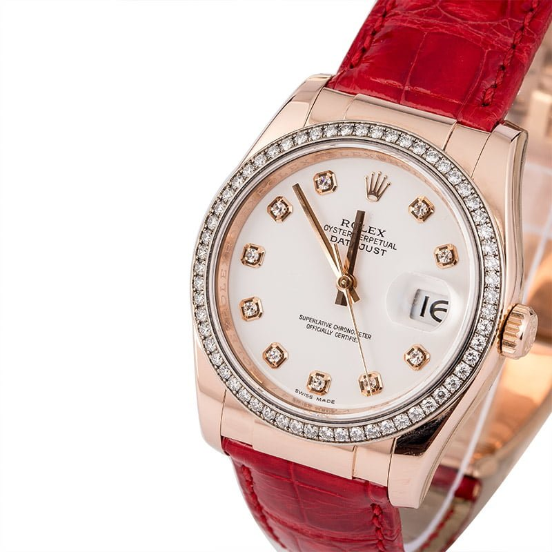 ba903493860 50 Certified Pre-Owned Rolex DateJust watches for Sale | Bob's Watches