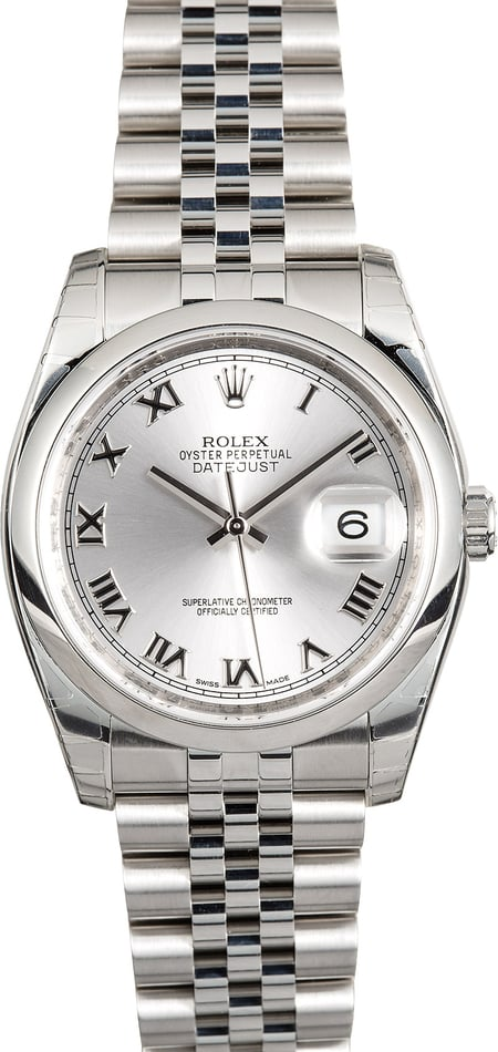 Rolex Datejust 116200 Factory Stickers