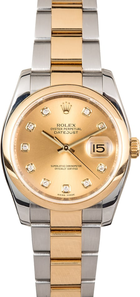 Rolex Datejust 116203 Diamond Dial