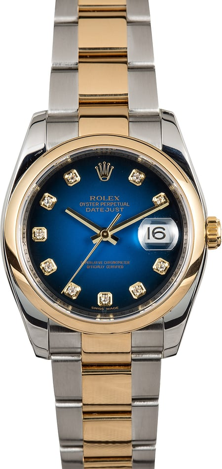 Rolex Datejust 116203 Diamond Vignette