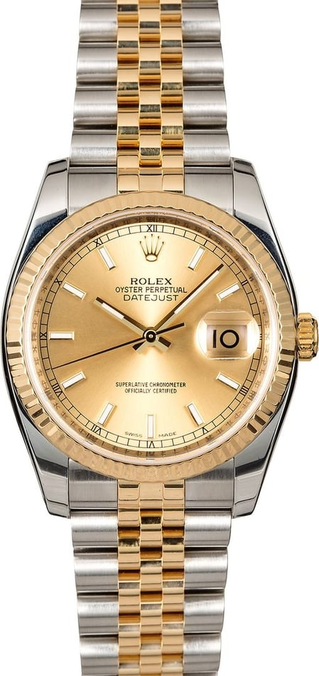 Men's Rolex Datejust 116233 Jubilee