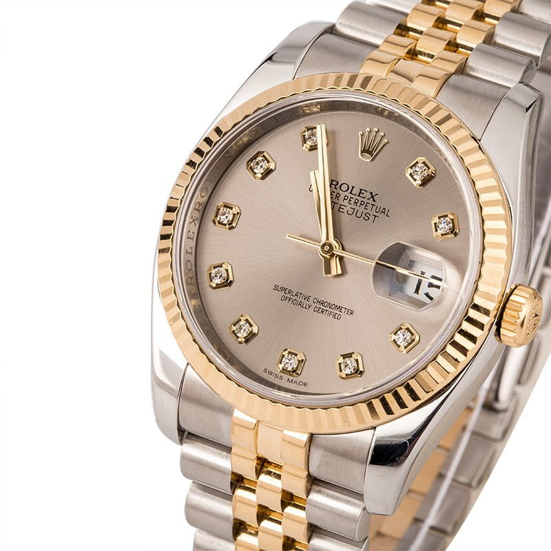 c4123939d6a 40 Certified Pre-Owned Rolex DateJust watches for Sale