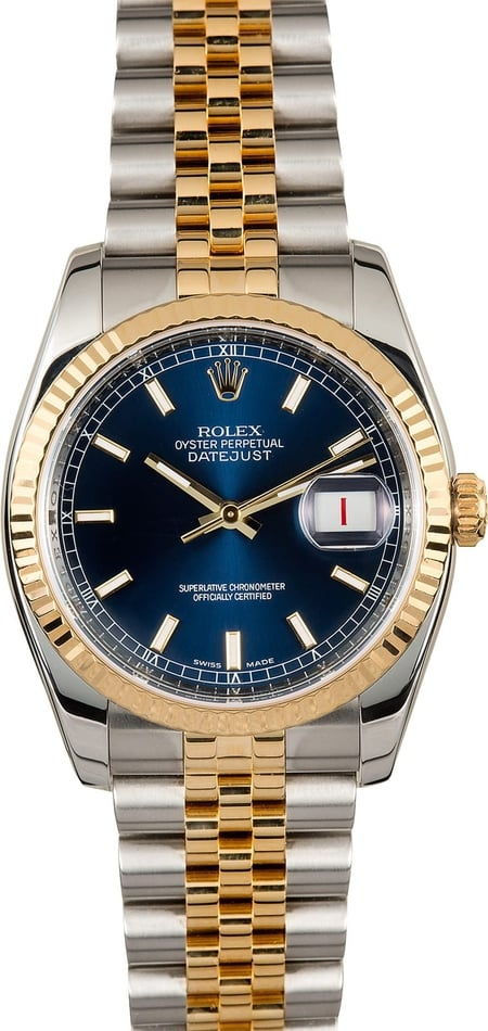 Rolex Datejust 116233 Blue Dial