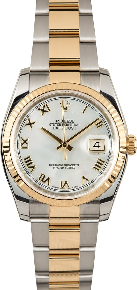 Rolex Datejust 116233 Mother of Pearl