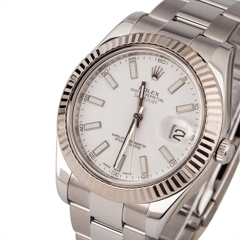 3337d0ac7e3 47 Certified Pre-Owned Rolex DateJust watches for Sale | Bob's Watches