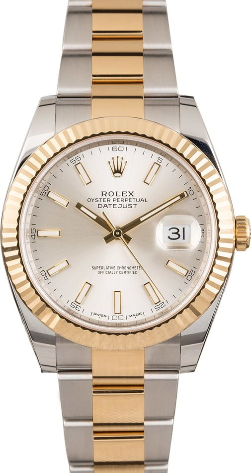 Rolex Datejust 41 Ref 126333 Two Tone Oyster