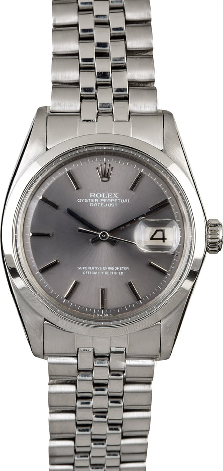 Rolex Datejust 1600 Slate Dial