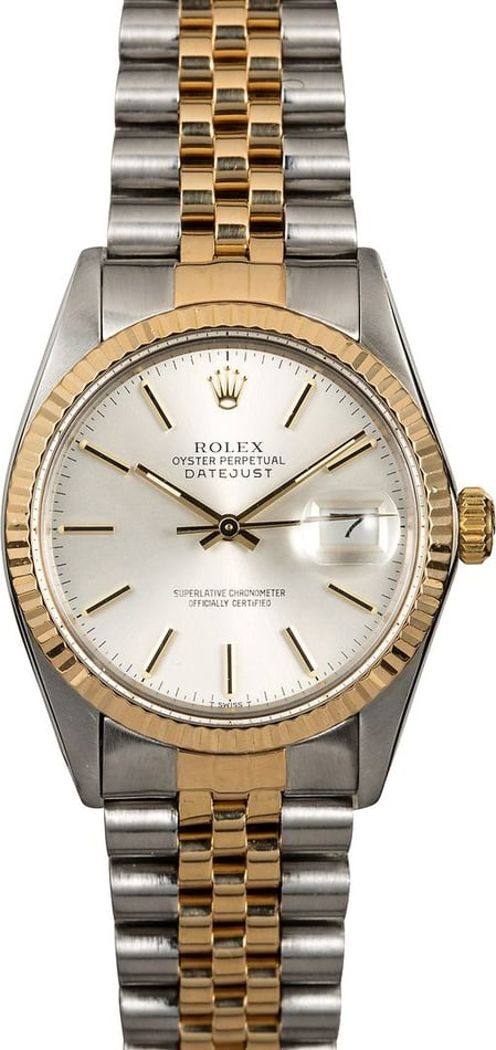Rolex Datejust 16013 Men's 36MM Watch