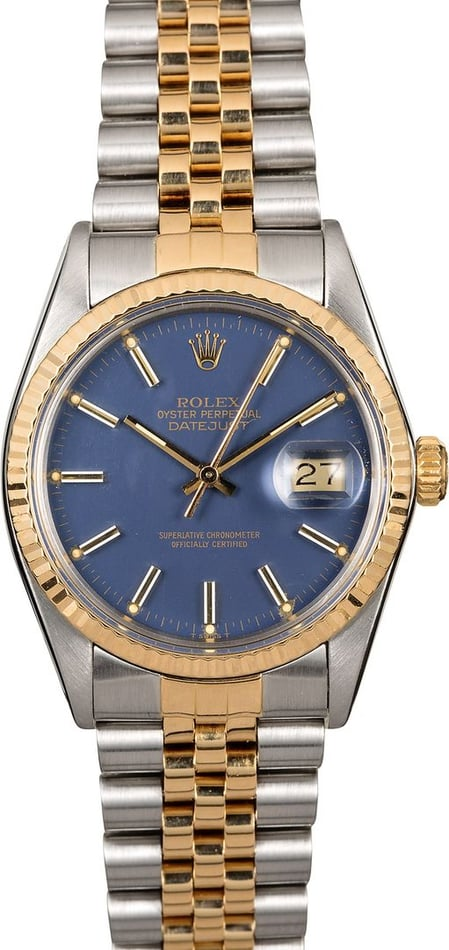 Men's Rolex Datejust 16013 Two-Tone