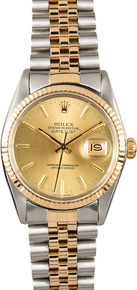 Rolex Datejust 16013 100% Authentic
