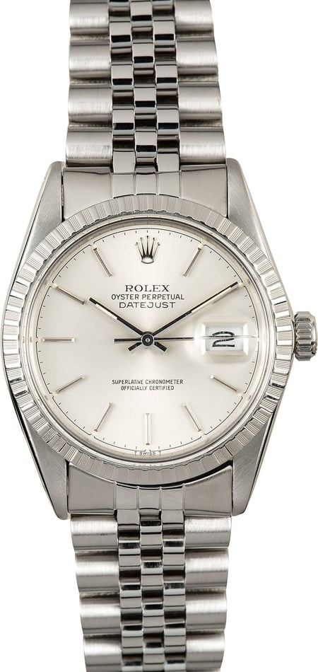 Rolex Datejust 16030 Stainless Steel 100% Authentic