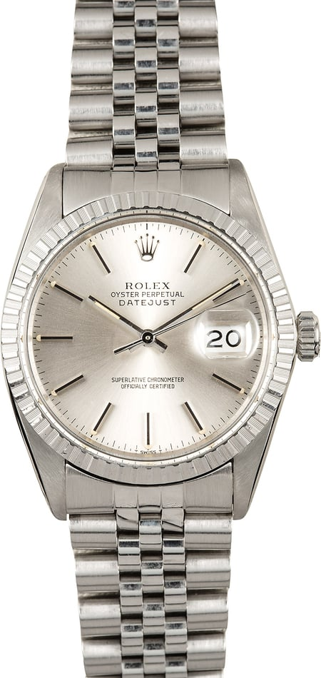 Rolex Datejust 16030 Stainless Steel Watch