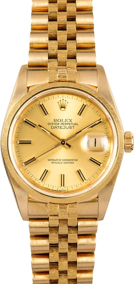 Rolex Datejust 16078 Bark Accents
