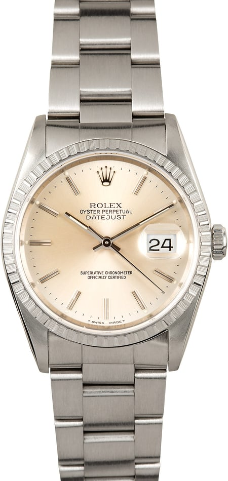 Rolex Datejust 16220 Oyster Stainless Steel