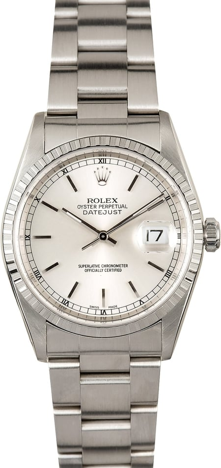 Rolex Datejust 16220 Stainless Oyster
