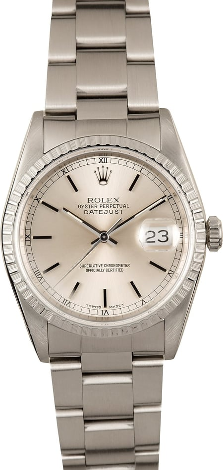 Rolex Datejust 16220 Stainless Steel Oyster