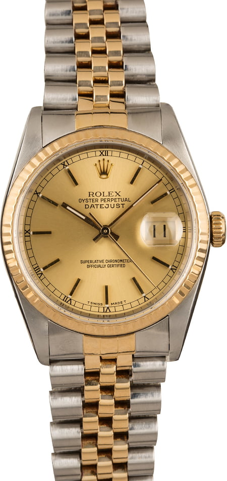 Used Rolex Datejust 16233 Chapter Ring