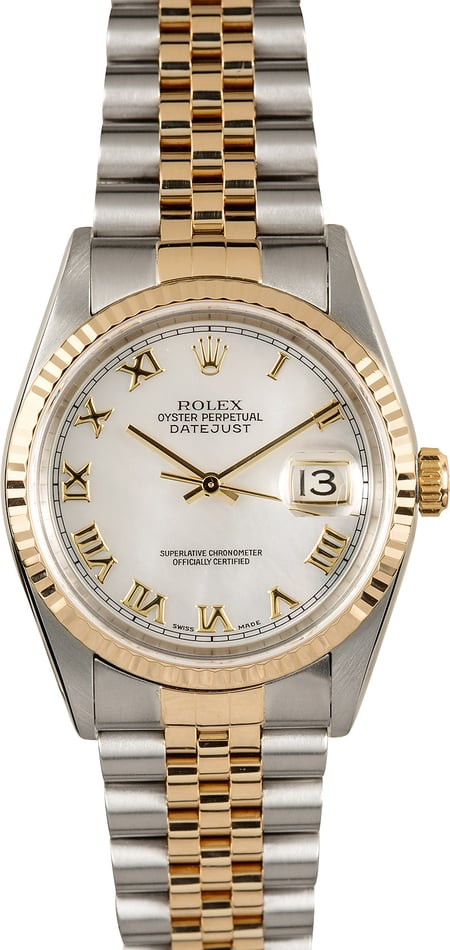 Rolex Datejust 16233 Mother of Pearl