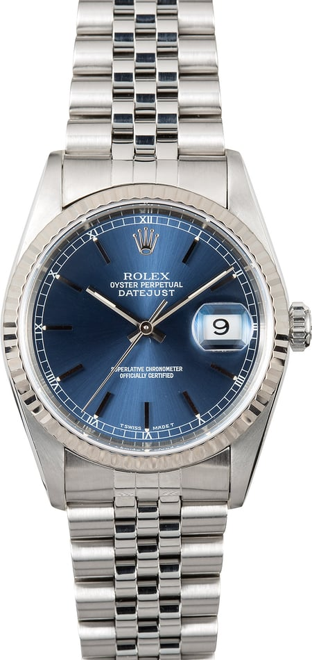 Rolex Datejust 16234 Blue Face
