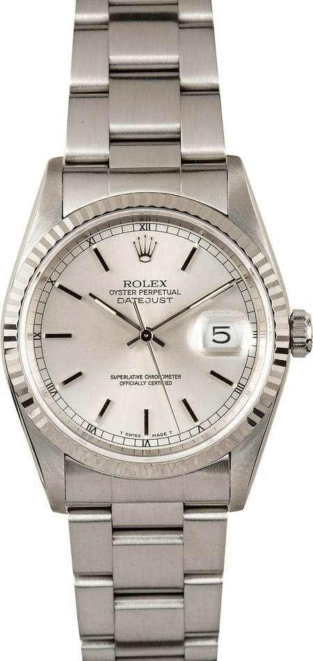 Rolex Datejust 16234 Stainless Steel Oyster