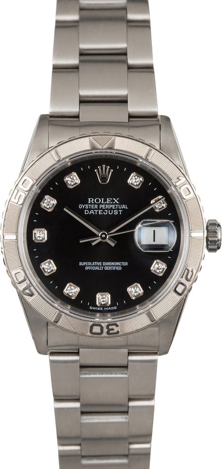Pre Owned Rolex Datejust 16264 Turn-O-Graph Bezel