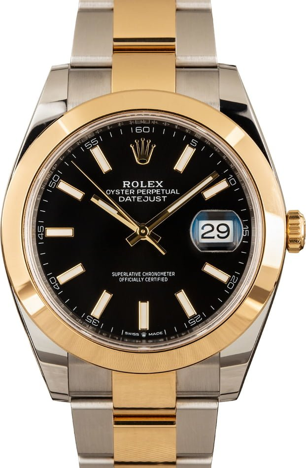 Rolex Datejust 41 Ref 126303 Two Tone Oyster