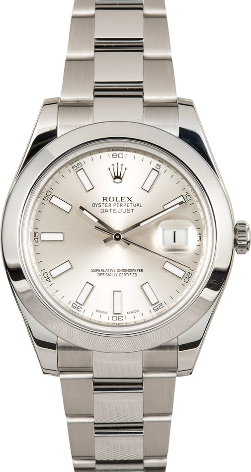 Rolex Datejust 41MM 116300 Stainless