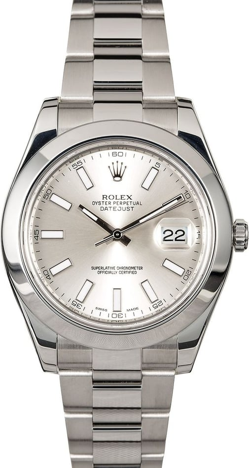 Rolex Datejust II 116300 Stainless Steel Oyster