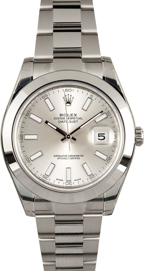 Rolex Datejust II 116300 Factory Stickered