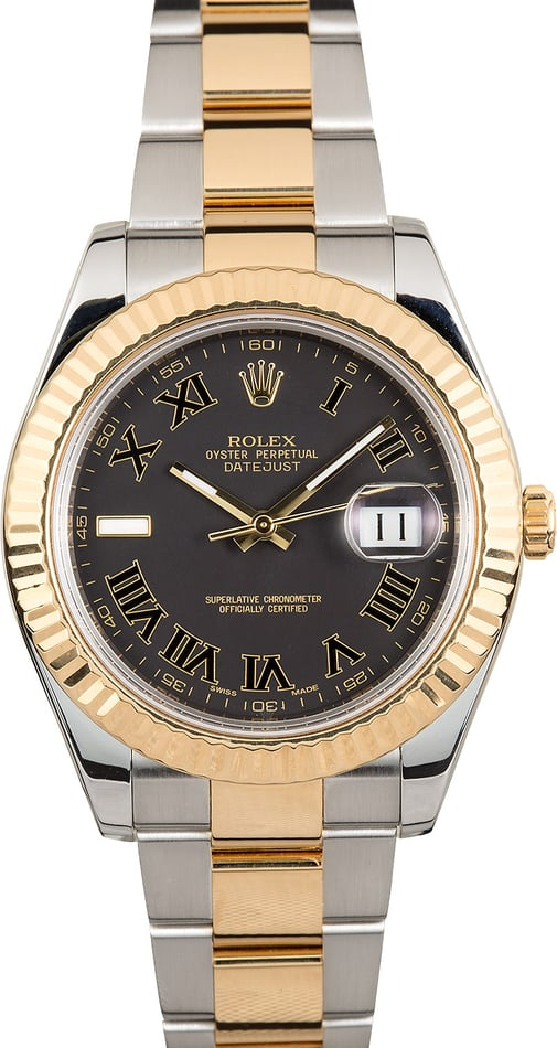 Rolex Datejust II 116333 Matte Black