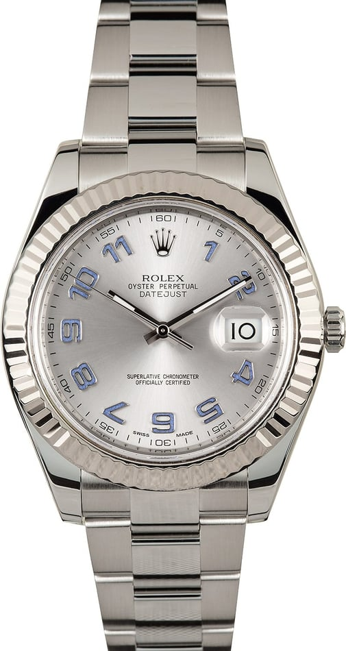 Rolex Datejust 41MM 116334 Arabic Dial
