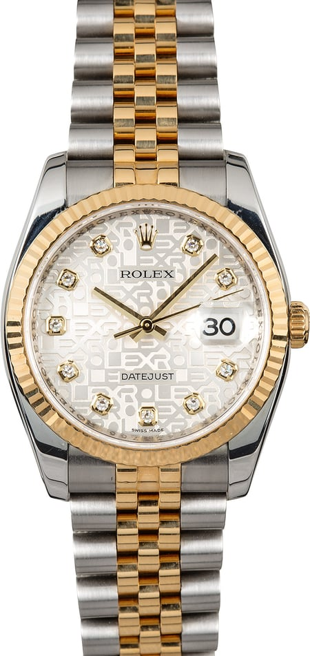 Rolex Datejust Jubilee 116233 Diamond