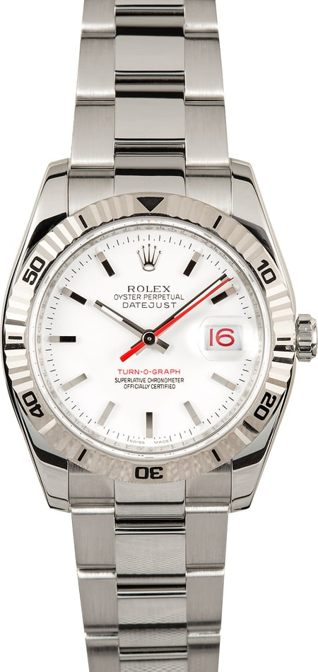Rolex Thunderbird 116264 Red Date