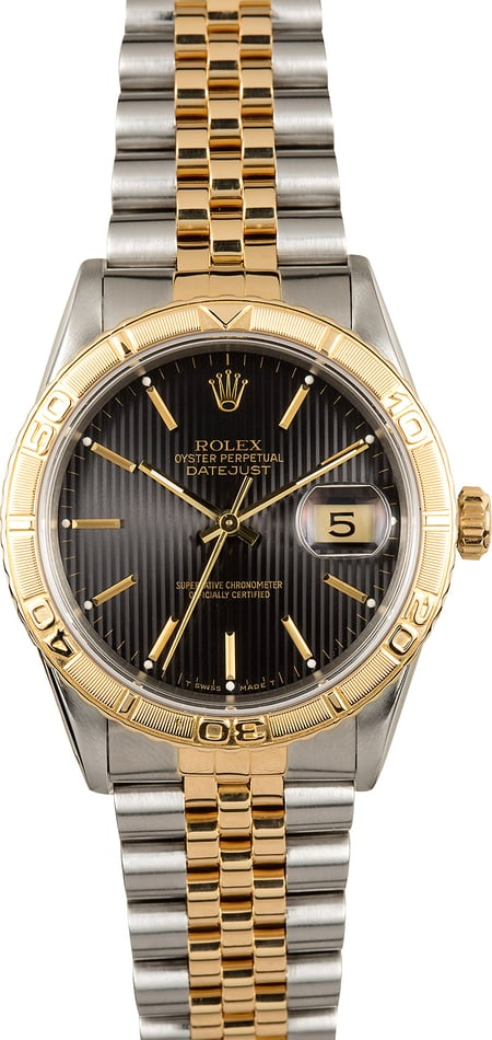 Rolex Datejust Thunderbird 16263 Two-Tone