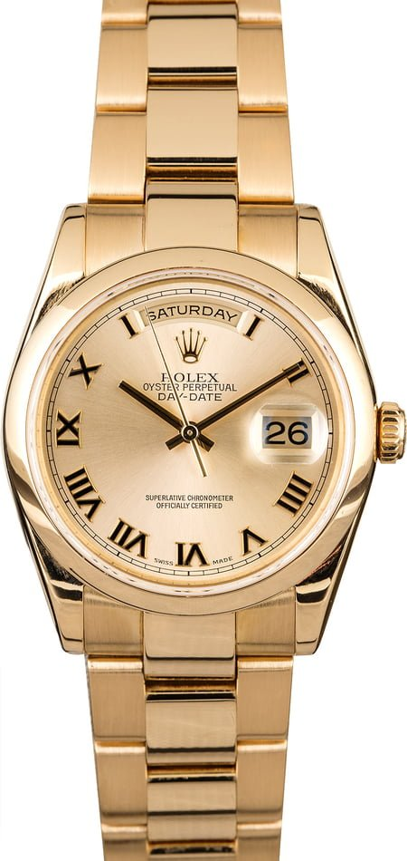 Rolex Day-Date 118208 Oyster Band