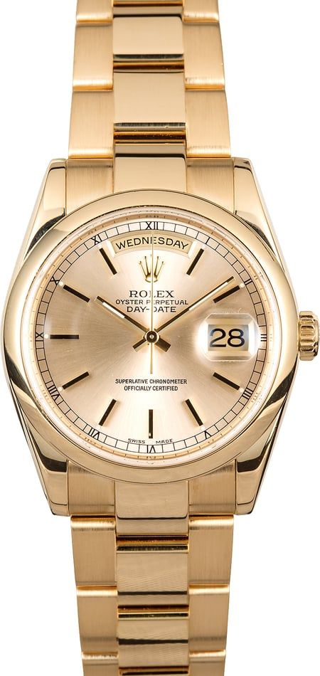 Rolex Day-Date 118208 Oyster