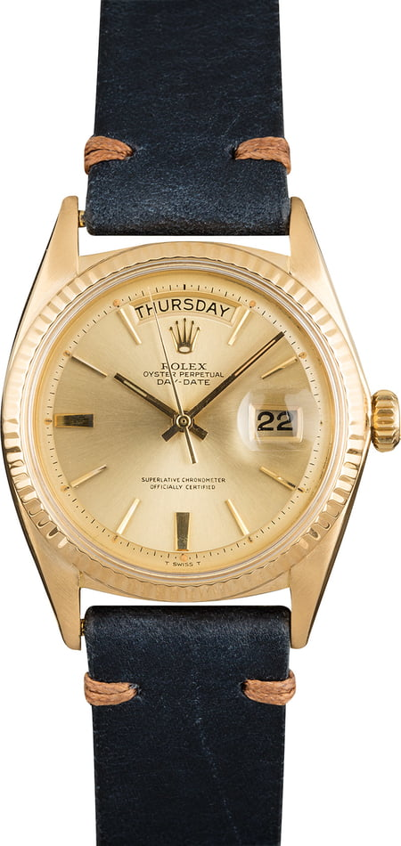 Rolex Day-Date 1803 Champagne 'Pie Pan' Dial