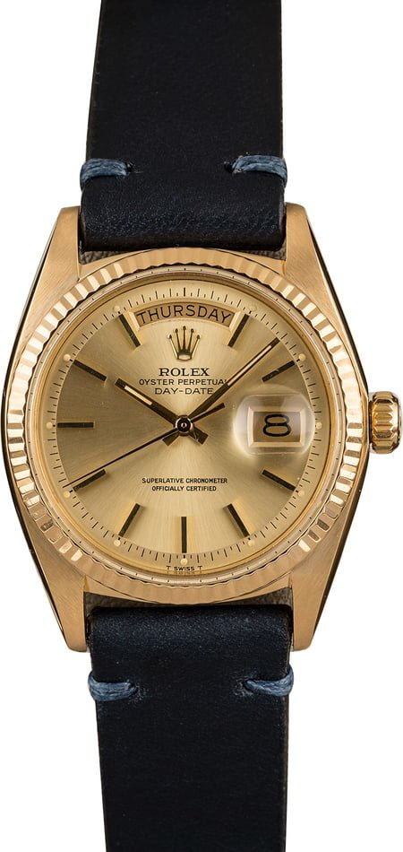 Pre-Owned Rolex Day Date 1803 Champagne Dial