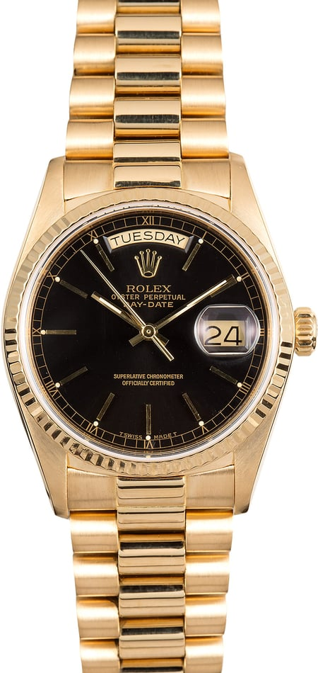 Rolex Day-Date 18038 Gold President